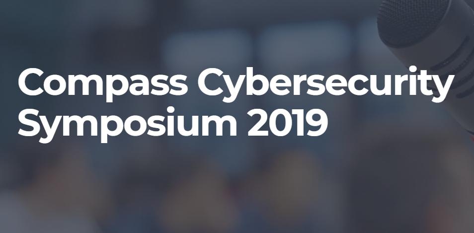 Proud sponsor of Cybersecurity Symposium 2019