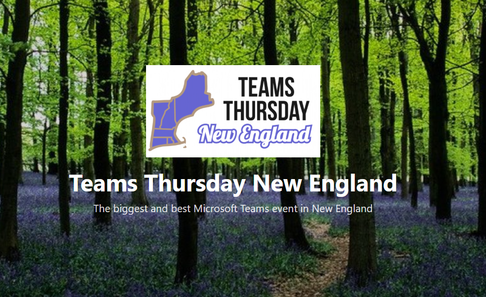 Teams Thursday New England